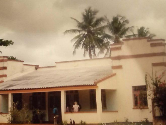 Fundação da Missão em Mapinhane - Moçambique