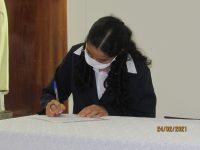 Samira Assinatura da Ata de Profissão