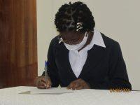 Teresa Assinatura da Ata de Profissão